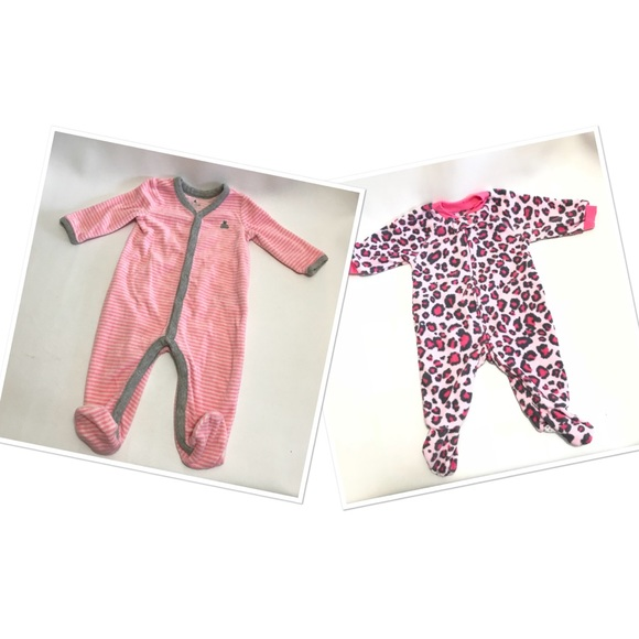 Beautiful Girls Baby Gap Pjs & Body Suit 3-6 Months Girls' Clothing (newborn-5t) One-pieces